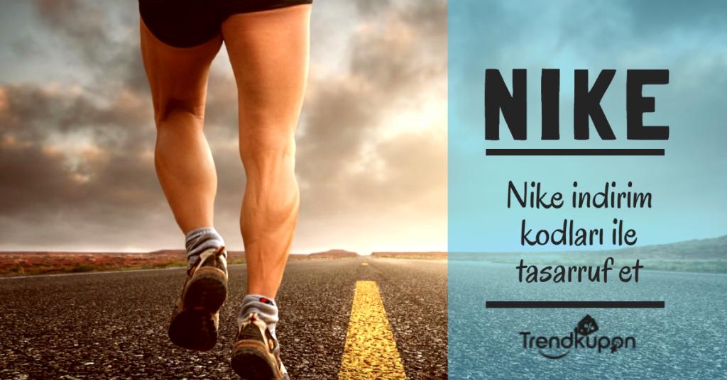 Nike indirim kodları ile tasarruf et
