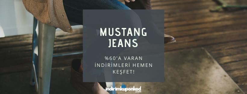 mustang jeans indirim kodu